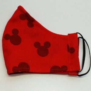 HAND CRAFTED Kids Mickey Mouse Face Mask Shield